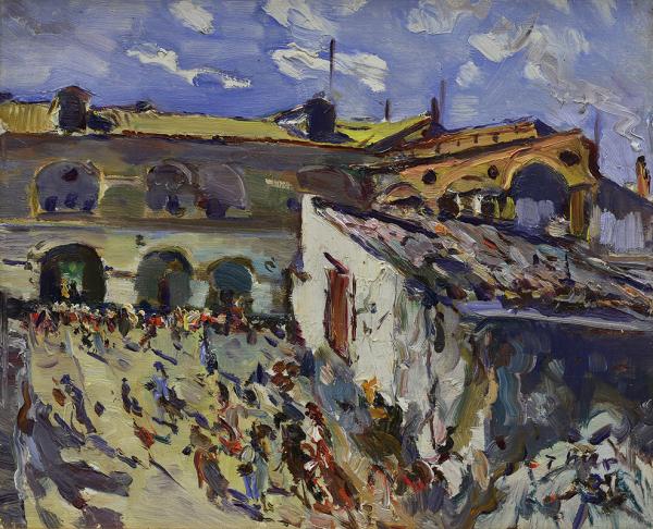 Mercado de vilanova i la geltru - Mir Trinxet, Joaquim