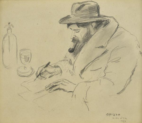 El pintor Santiago Rusinol - Opisso Sala, Ricard