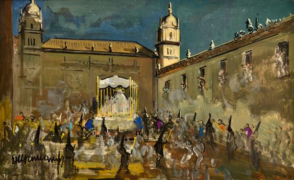 rafael-durancamps-folguera_la-procesion