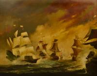 escuela-europea-del-siglo-xx-_batalla-naval
